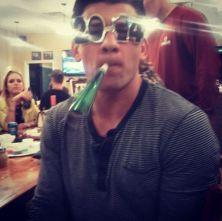 Jeremy celebrates New Year's Eve