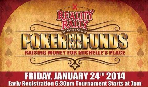 Reality Rally Poker Fundraiser