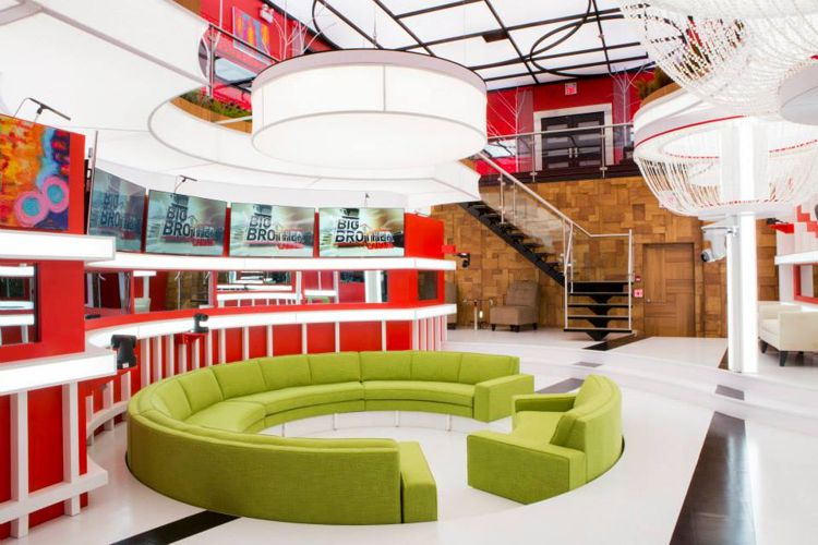 Big Brother Canada 2 house – living room