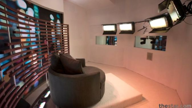 Big Brother Canada 2 house - Diary room