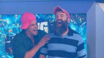 Zach congratulates Donny on winning AFP
