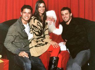 Cody Calafiore & family with Santa