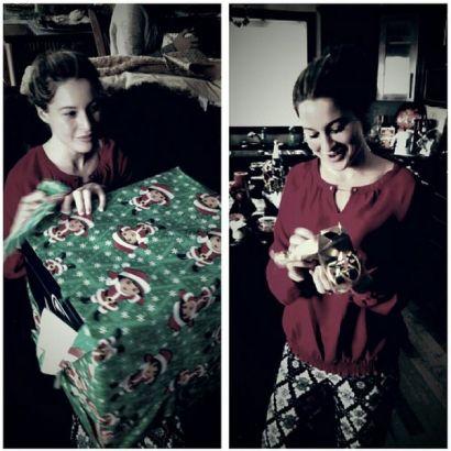 Elissa Slater gets a Christmas surprise
