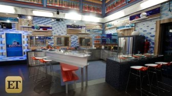 Big Brother 17 House - Kitchen