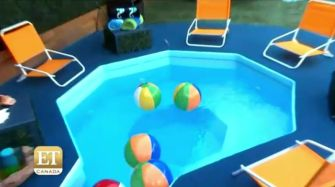 Big Brother 17 House - hot tub