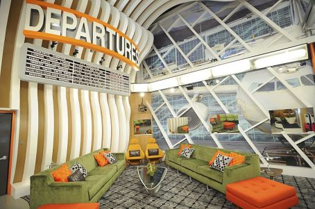 Living room in the Big Brother 18 house