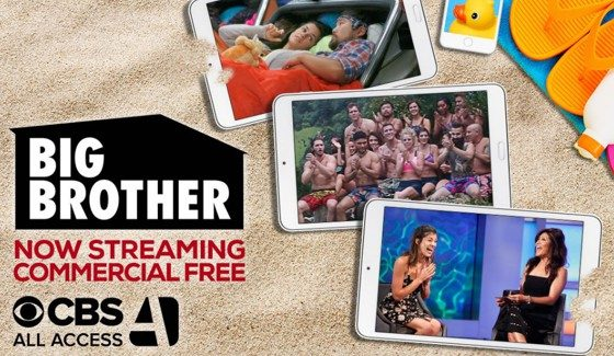 Big Brother on All Access goes commercial free