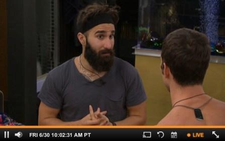Paul talks with Cody