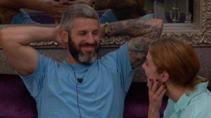 Matthew is pleased with himself on BB19