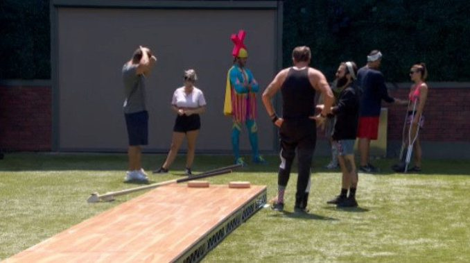 Big Brother 19 HGs practice a new comp