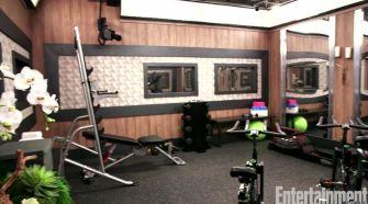 Celebrity Big Brother gym 01