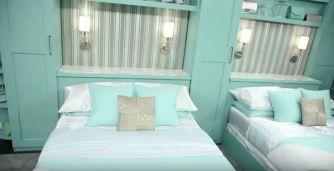 Celebrity Big Brother bedrooms 05