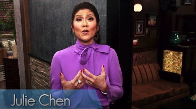Julie Chen Celebrity Big Brother house tour