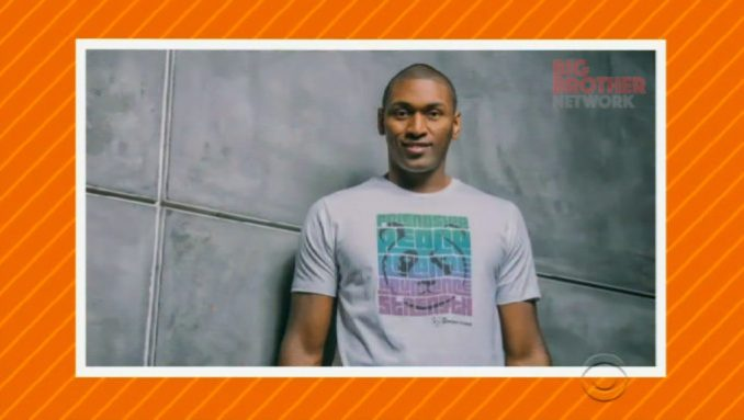 Metta World Peace (Ron Artest) on CBBUS