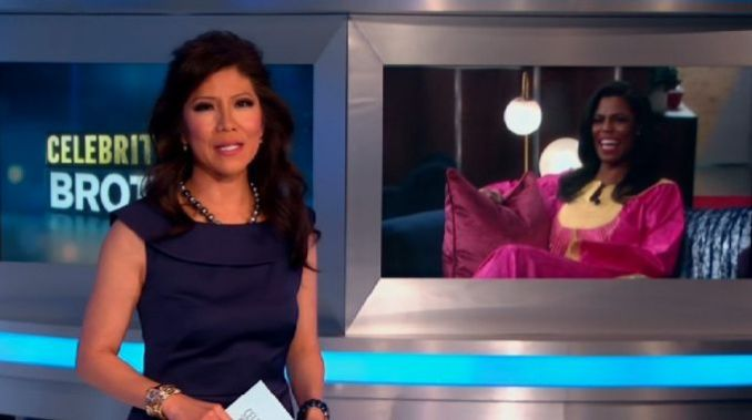 Julie Chen hosts Celebrity Big Brother eviction show