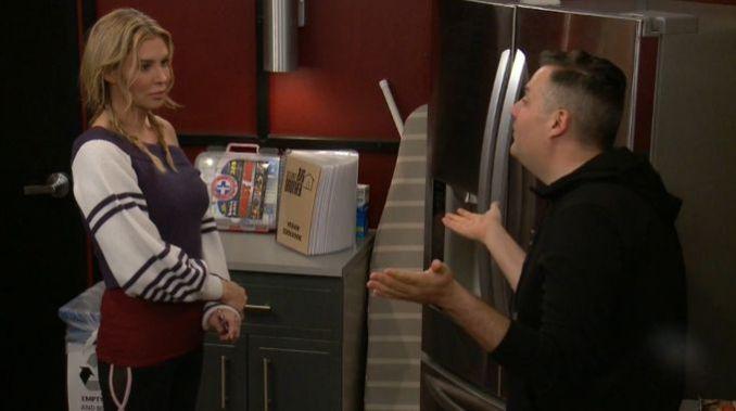 Brandi and Ross talk on Celebrity Big Brother