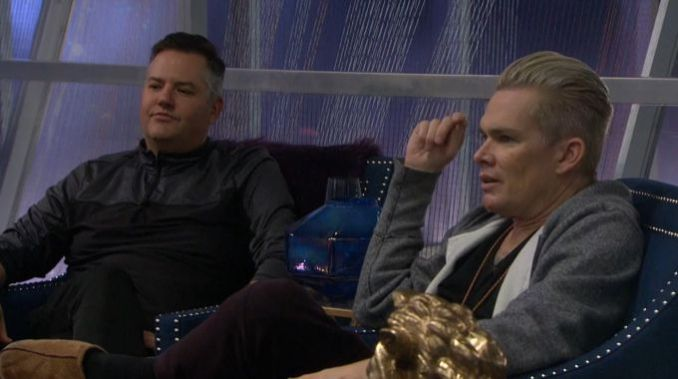 Ross and Mark on Celebrity Big Brother