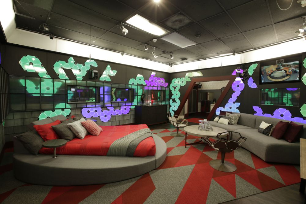Big Brother 20 House – HOH room