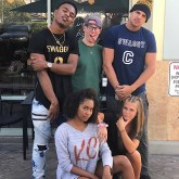 Swaggy C, Scottie, Faysal, Bayleigh and Haleigh