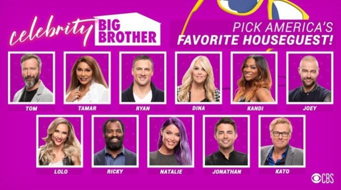 Celebrity Big Brother 2019's Favorite Houseguest vote