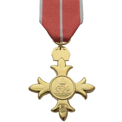 Officer of the British Empire OBE Military Reverse