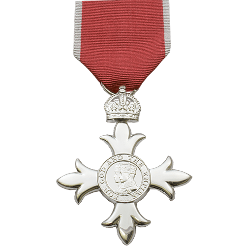 Member of the British Empire MBE Civilian