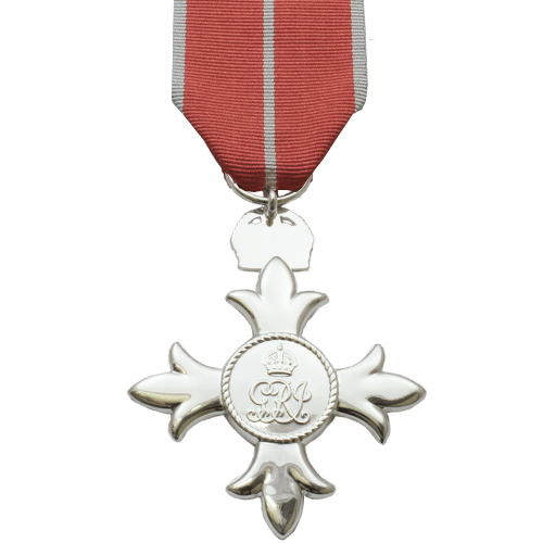 Member of the British Empire MBE Military Reverse