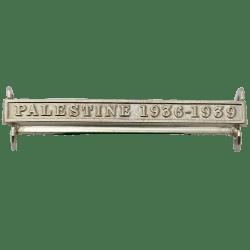 Palestine 1936-39 Clasp Naval General Service
