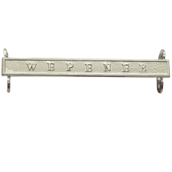 Queens South Africa QSA Clasp WEPENER