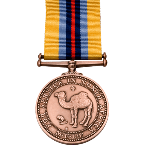 North Africa Service Medal Commemorative Miniature