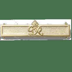 Second Award Bar Efficiency Decoration GVI