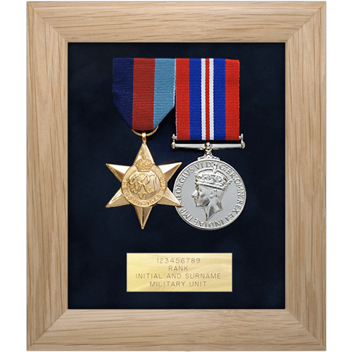 Medal Display Frame Two Medals • Medal Makers - Commemorative and ...