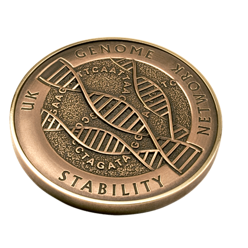 UK Genome Stability Network Medal Front