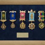 Military Medal Display Frame Case Study-Ballard
