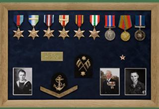 Bespoke Medal Display Frame