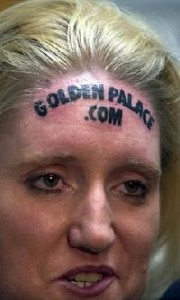 Goldenpalacecasinotattoo body sold
