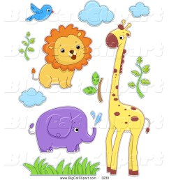 royalty free stock big cat designs of safari animals safari clip art free printables safari jeep [ 1024 x 1044 Pixel ]