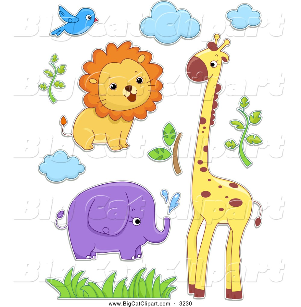medium resolution of royalty free stock big cat designs of safari animals safari clip art free printables safari jeep