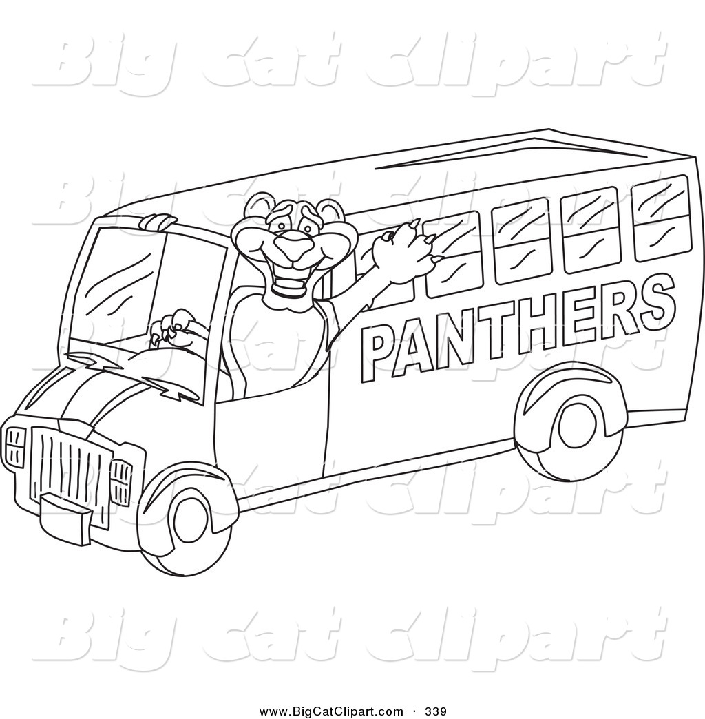 School Bus Outline Template