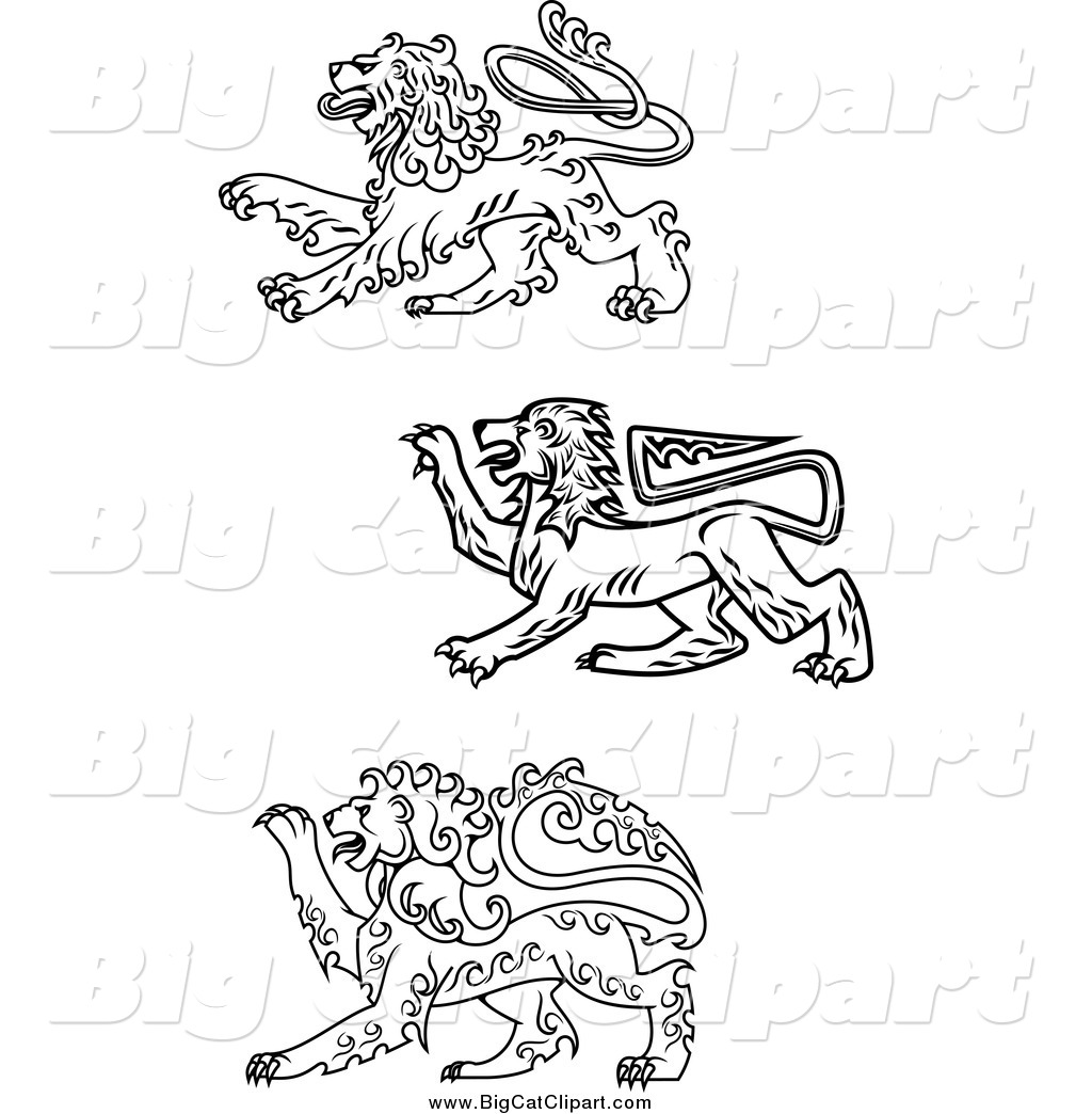 Royalty Free Stock Big Cat Designs Of Printable Coloring Pages