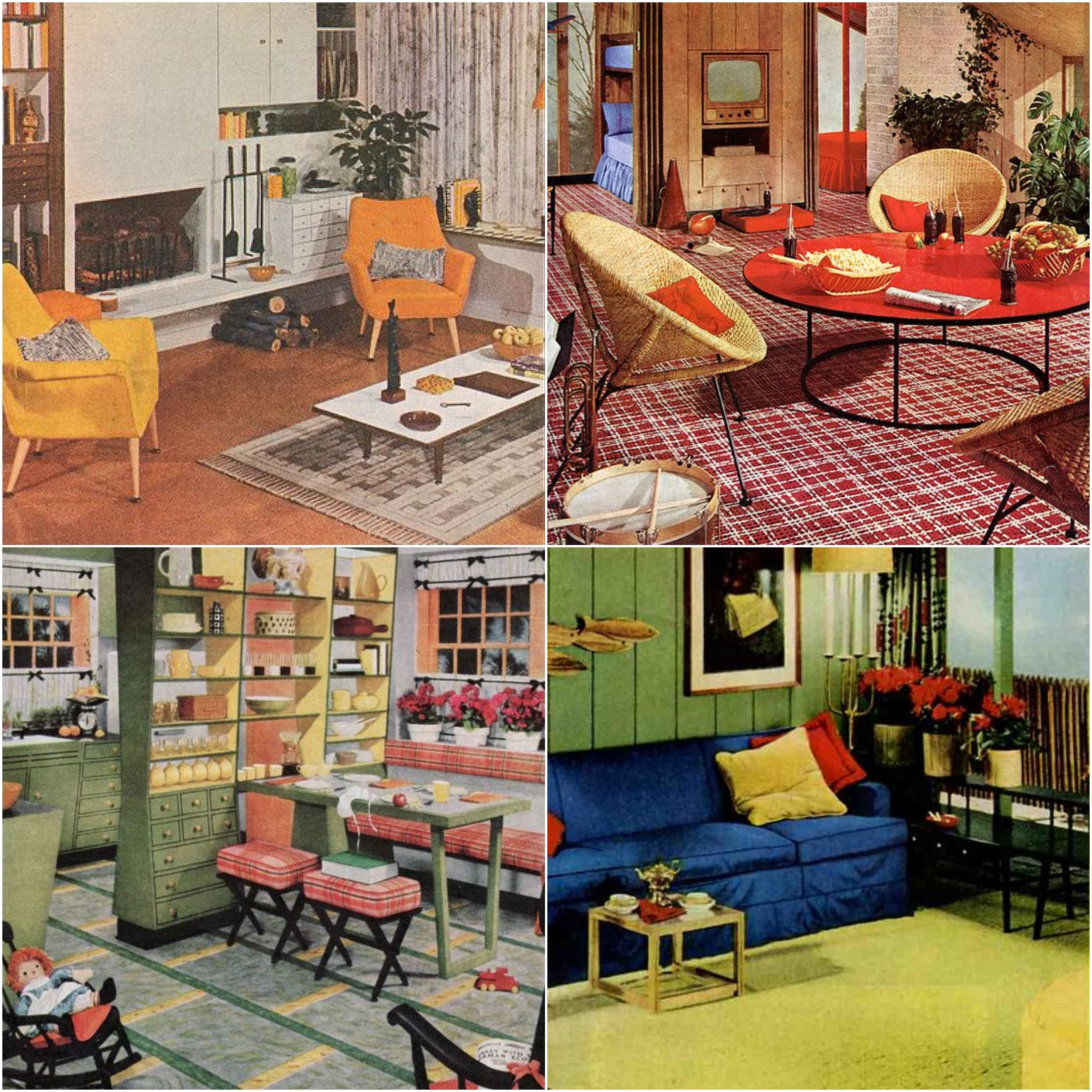 retro chrome chairs wedding reception chair covers and sashes 7 reasons why 1950's homes rocked