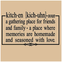 Happy Kitchen, Happy Home - Inspiring Quotes About Kitchens