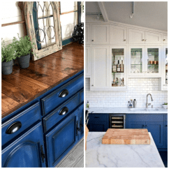 Blue Kitchen Cabinet Knobs Cabinets And Countertops 4 Ways To Use Navy In Your
