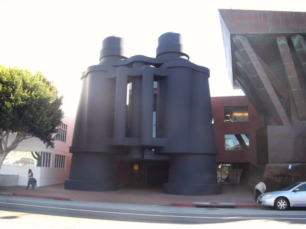Los Angeles. Venice. Binoculars Building. Big Cities