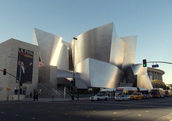 Los Angeles. Walt Disney Concert Hall. Big Cities