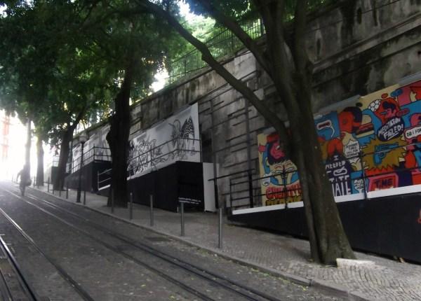Lisbon. Bairro Alto. Galeria Arte Urbana. Big Cities. Bright Lights