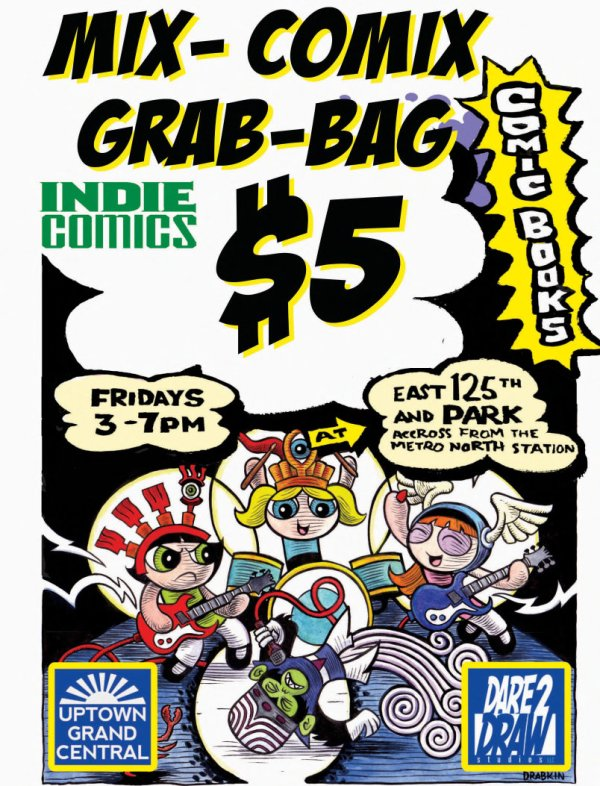 Indie Comix Grab Bags