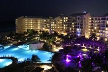 hotel night view