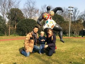 парк скульптур Шанхай 6