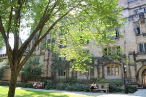 Старинное здание Йельского университета, Коннектикут